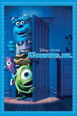 Pixar - Monsters, Inc. artwork